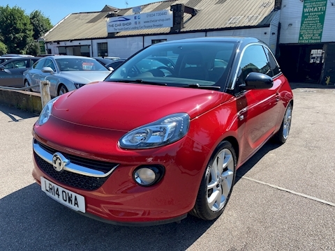 Vauxhall ADAM SLAM 1.4 3dr Hatchback Manual Petrol