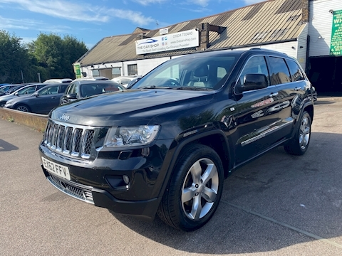 Jeep Grand Cherokee Grand Cherokee 3.0 Crd V6 Overland 3.0 5dr Estate Automatic Diesel