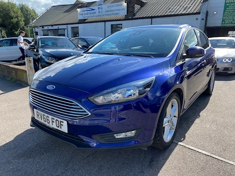 Ford Focus Zetec 1.0 5dr Hatchback Manual Petrol