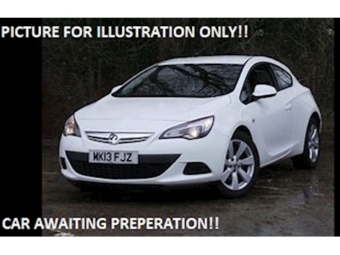 Vauxhall Astra GTC Sport Coupe 1.4 Manual Petrol