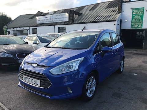 Ford B-Max Zetec 1.5 5dr MPV Manual Diesel