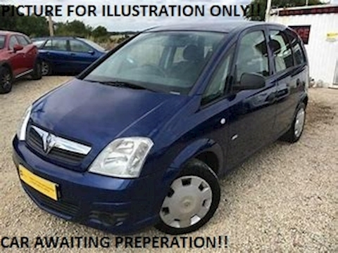 Vauxhall Meriva Breeze Plus MPV 1.3 Manual Diesel
