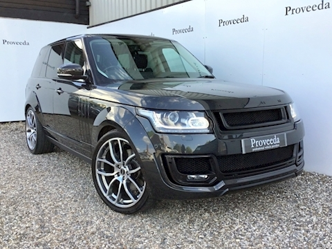 Range Rover Sdv8 4.4 - Widebody Project Kahn Pace Car