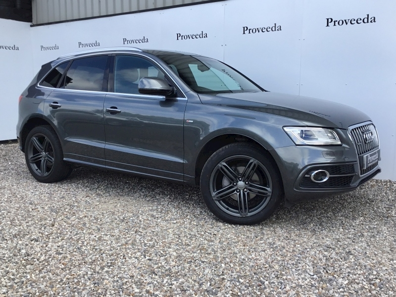Q5 Tdi Quattro S Line Plus 2.0 Auto - 190ps Model - 1 owner