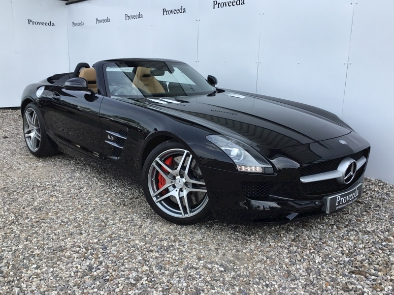 Sls Amg Roadster 6.2 Convertible Automatic - Very Rare!