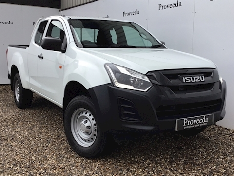 D-Max Extended Cab Utility 1.9 Pick-Up Manual Diesel
