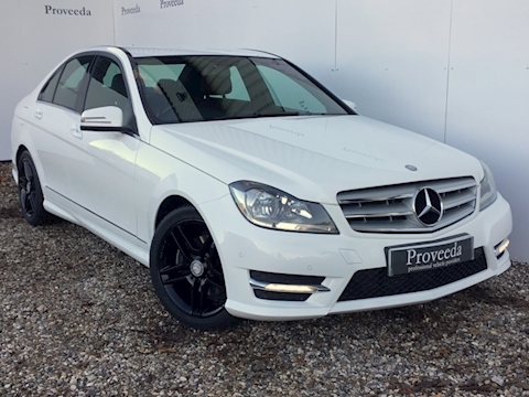 C220 Cdi Amg Sport Saloon Auto - Low mileage - Sat Nav - Excellent example