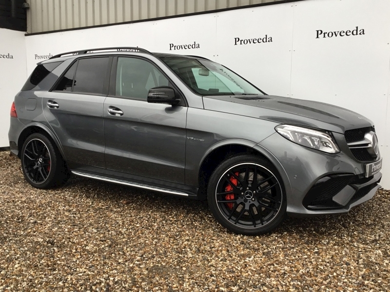 Gle 63 S 4Matic Premium Estate 5.5 Automatic - 1 owner - Rear entertainment