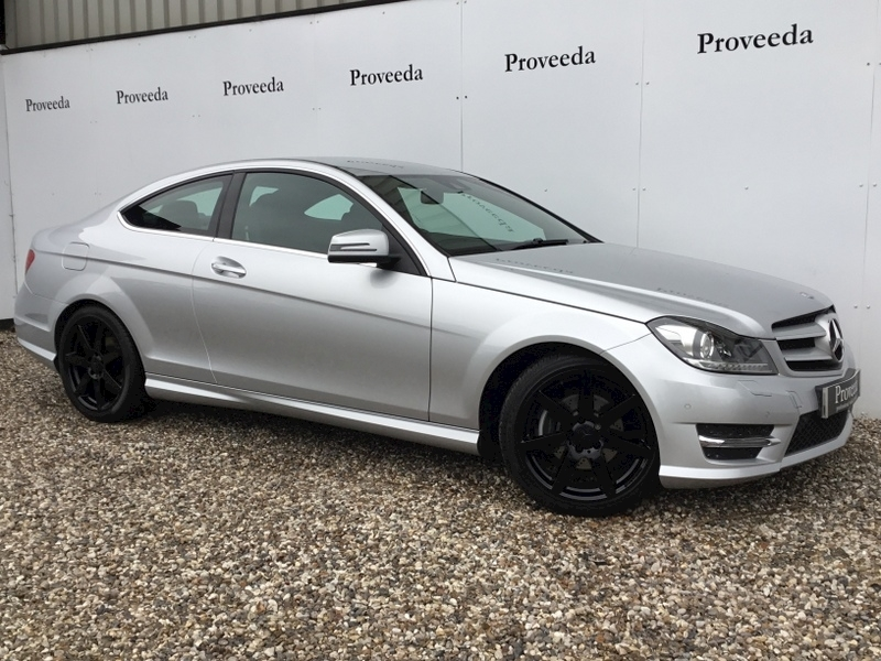 C Class C180 Blueefficiency Amg Sport Coupe 1.6 Automatic Petrol