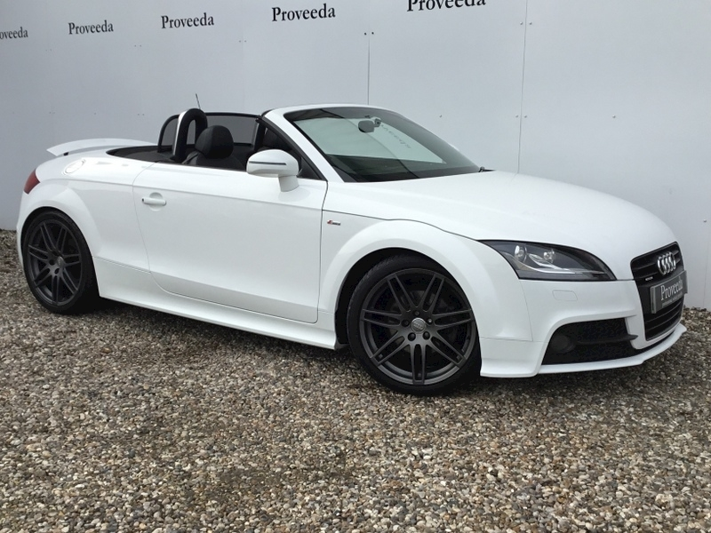 Tt Tdi Quattro Black Edition Convertible 2.0 - Immaculate car..