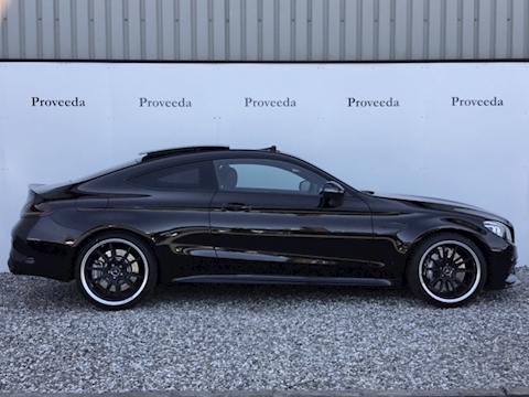 C 63 Premium Plus 4.0 2dr Coupe - Facelift + De-chromed
