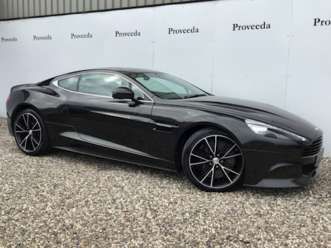 Vanquish V12 Coupe 5.9 Automatic Petrol- What beautiful motor car!