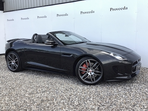 F-Type V8 S Convertible 5.0 Automatic Petrol - What a car!..