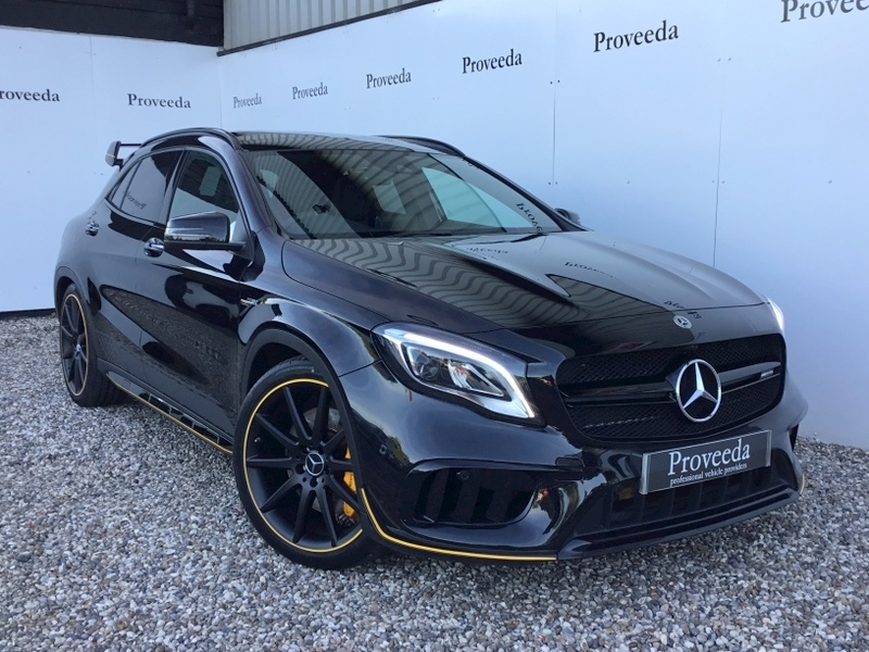 Mercedes-Benz GLA Class AMG Yellow Night Edition