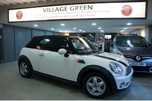 Mini Cooper Convertible 1.6 Manual Petrol