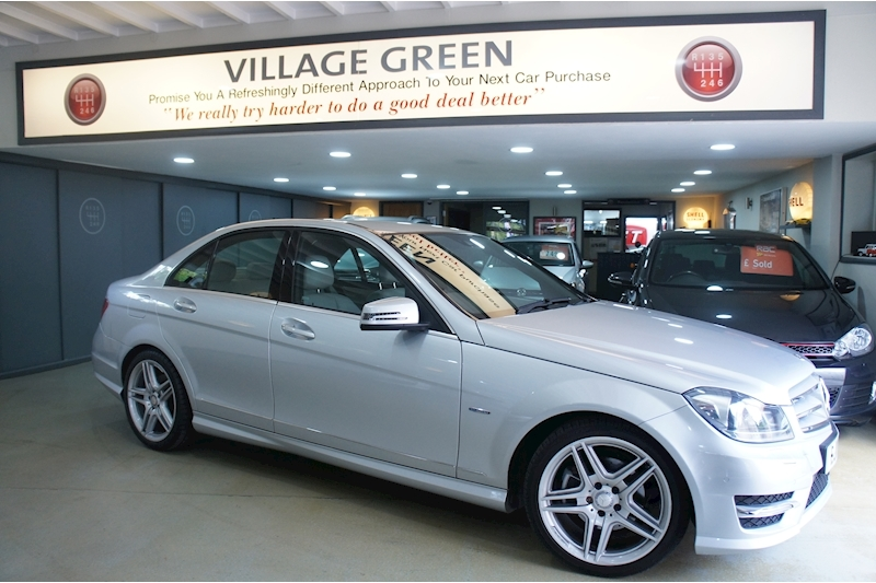 Mercedes-Benz C Class C220 Cdi Blueefficiency Sport Image 1