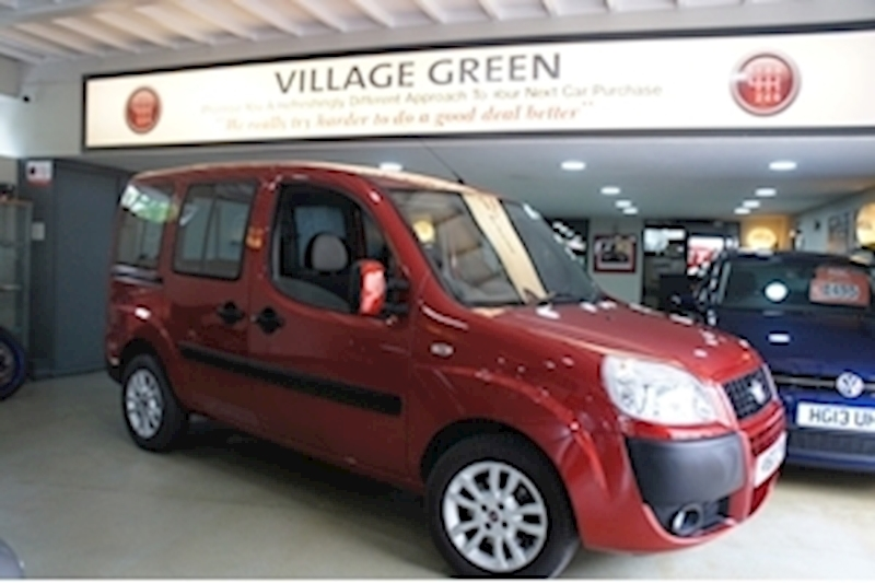 Doblo 8V Dynamic H/R Mpv 1.4 Manual Petrol