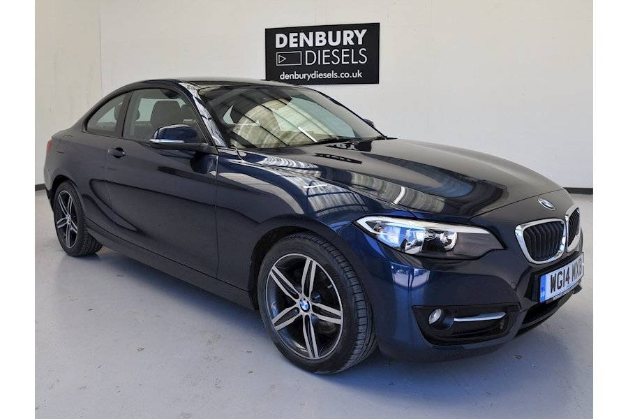 Bmw 2 Series 220D Sport Coupe 2.0 Manual Diesel