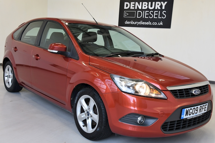 Ford Focus Zetec Focus Zetec 100 Hatchback 1.6 Manual Petrol