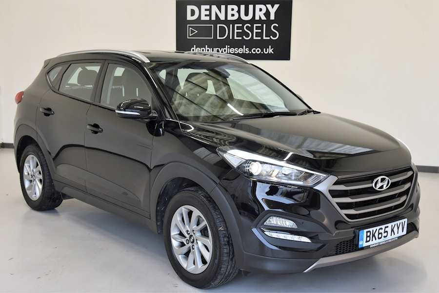 Hyundai Tucson Tucson Se Blue Drive 2Wd Estate 1.7 Manual Diesel