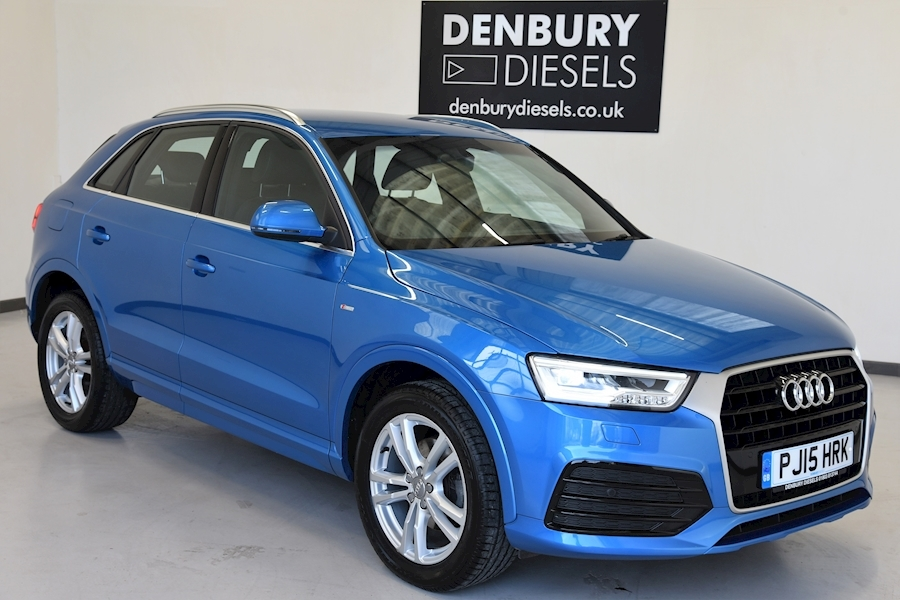 Audi Q3 Q3 S Line Tdi Estate 2.0 Manual Diesel