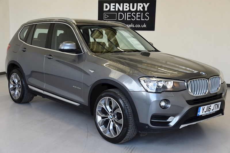 Bmw X3 Xdrive30d Xline Estate 3.0 Automatic Diesel