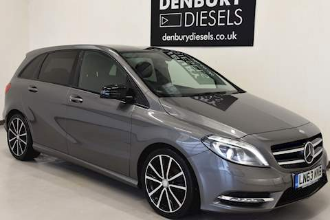 Mercedes-Benz B-Class B200 Cdi Blueefficiency Sport Mpv 1.8 Manual Diesel