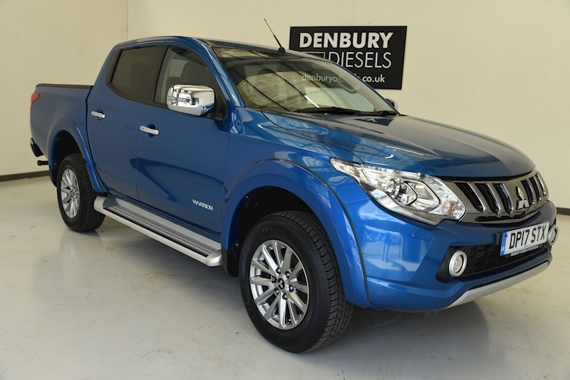 Mitsubishi L200 DC Warrior 2.4 4dr Pickup Manual Diesel