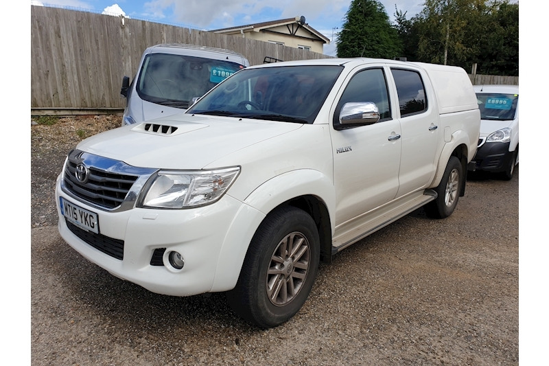 Toyota Hilux Icon 4X4 D-4D Dcb Light 4X4 Utility 2.5 Manual Diesel