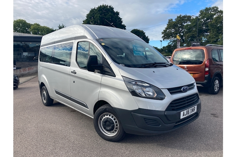 Ford Transit Custom 2.0 TDCi 310 Double Cab-in-Van 6dr Diesel Manual L2 H1 (165 g/km, 128 bhp) 2.0 6dr Double Cab-in-Van Manual Diesel