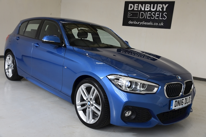 BMW 1 Series 118d M Sport 5-Door 2.0 5dr 5 Door Sports Hatch Manual Diesel