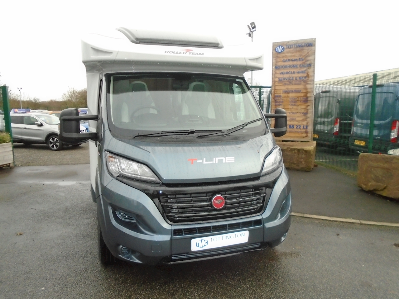 Rollerteam T-Line 590  (New 2021 Model) 2300 Motorhome Automatic Diesel