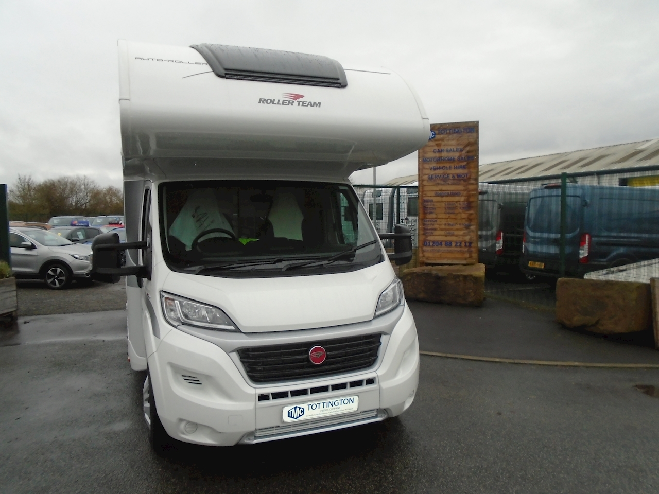 Rollerteam Auto-Roller 746  (New 2021 Model) 2300 Motorhome Automatic Diesel