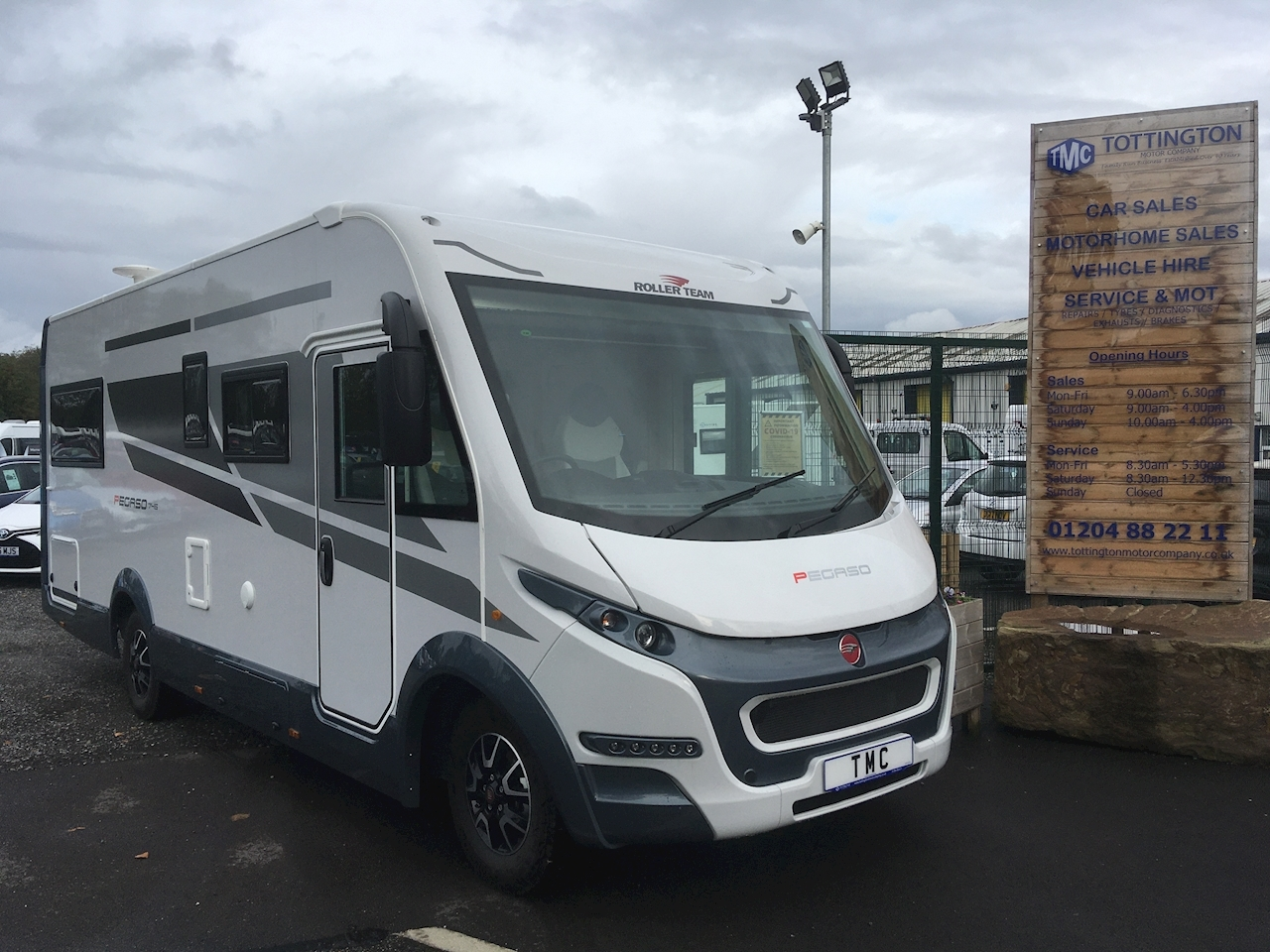 Rollerteam Pegaso 745 (new 2021 Model) Motorhome 2300 Manual Diesel