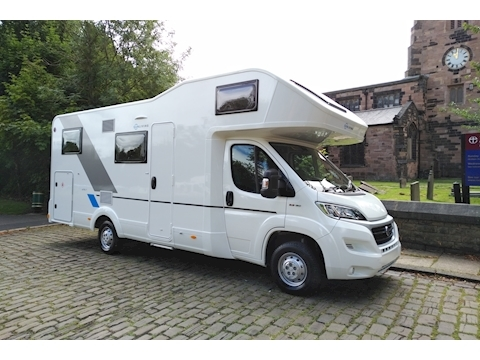 Adria Sun Living A 75 DP (Registered April 2018) Only 8,000 Miles