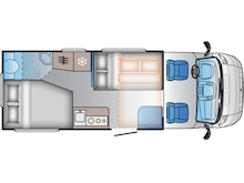 Adria Sun Living by Adria S 70 DF (French Bed Layout) - Thumb 2
