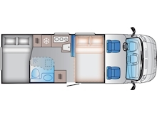 Adria Sun Living by Adria S 70 SP (Transverse Bed Layout) - Thumb 1