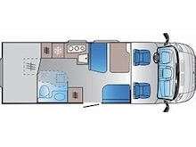 Adria Sun Living by Adria S 70 SP (Transverse Bed Layout) - Thumb 2