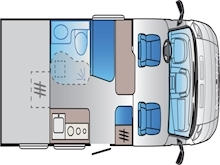 Adria Sun Living by Adria S 60 SP Automatic (BRAND NEW IN STOCK) - Thumb 1