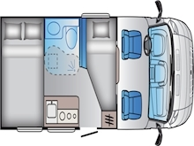 Adria Sun Living by Adria S 60 SP Automatic (BRAND NEW IN STOCK) - Thumb 2