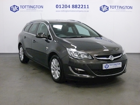Vauxhall Astra Elite Cdti Diesel Estate Automatic (Only 3,000 Miles)
