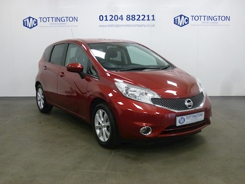 Nissan Note Acenta Premium Dig-S Automatic (Only 8,000 Miles)