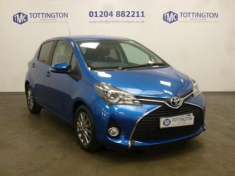 Toyota Yaris Vvt-I Icon M-Drive S Automatic (Only 600 Miles)