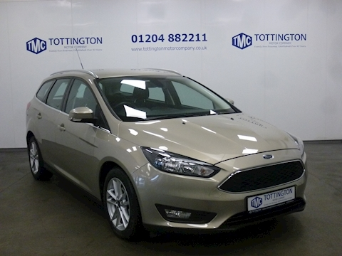 Ford Focus Zetec Estate Automatic (Only 6,000 Miles)