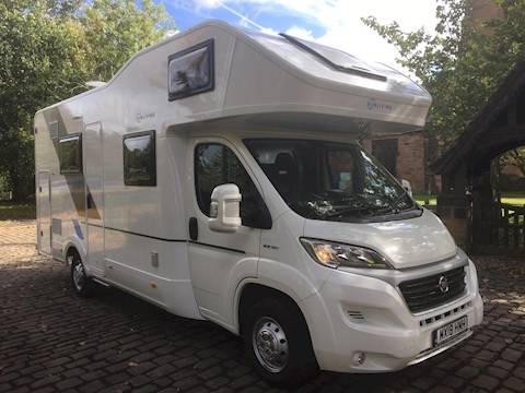Adria Sun Living A 70 DK (Registered May 2018) Only 6,000 Miles