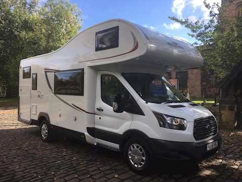 Roller Team Zefiro 690 Automatic (Registered March 2018) Only 9,800 Miles
