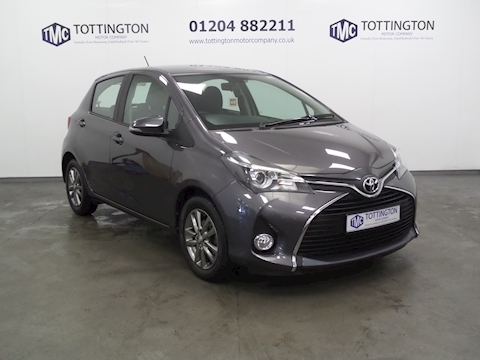 Toyota Yaris Vvt-I Icon M-Drive S Automatic (Only 4,000 Miles)