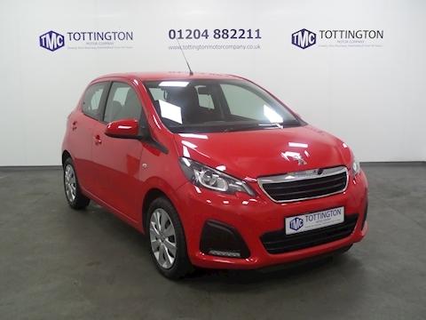 Peugeot 108 Active (Only 3,500 Miles)