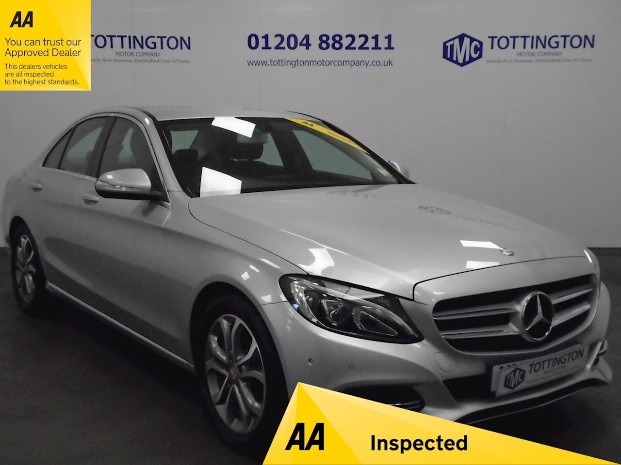Mercedes-Benz C Class C200 Sport Saloon 2.0 Manual Petrol