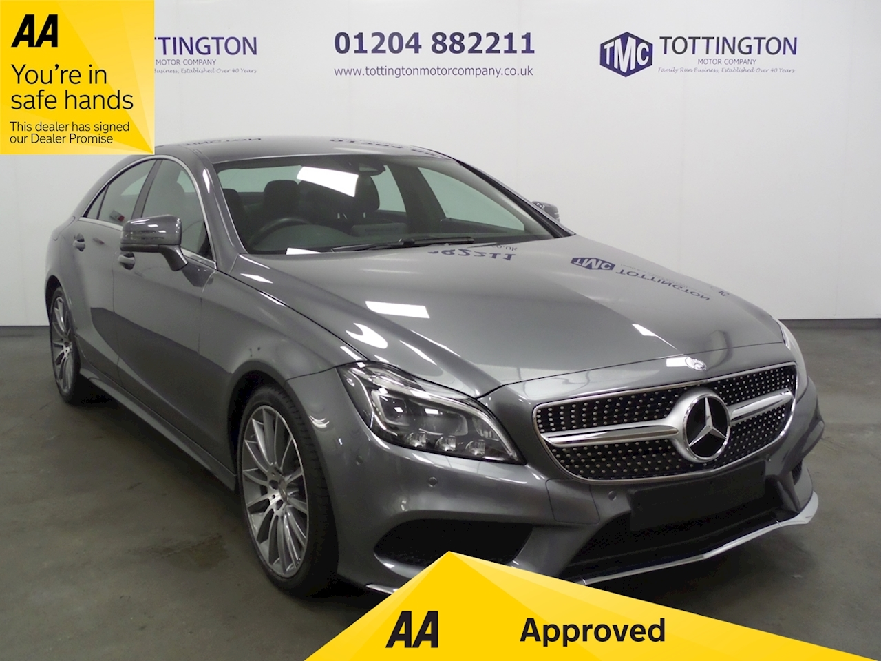 Mercedes-Benz Cls Cls350 D Amg Line Coupe 3.0 Automatic Diesel